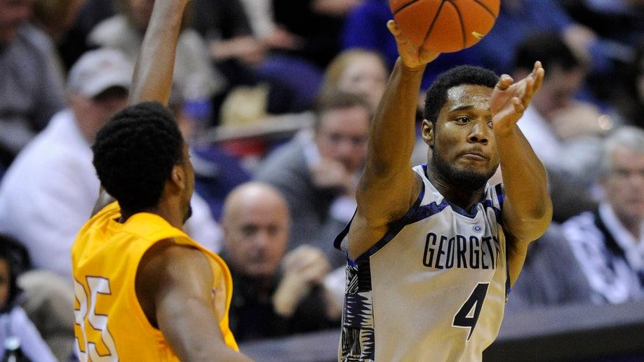 Lipscomb Georgetown Basketball