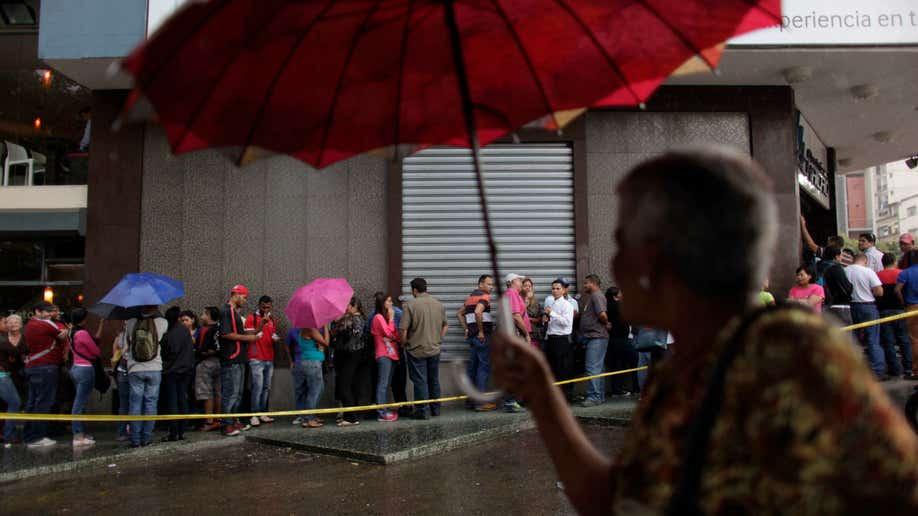 Venezuela Frenzied Shopping