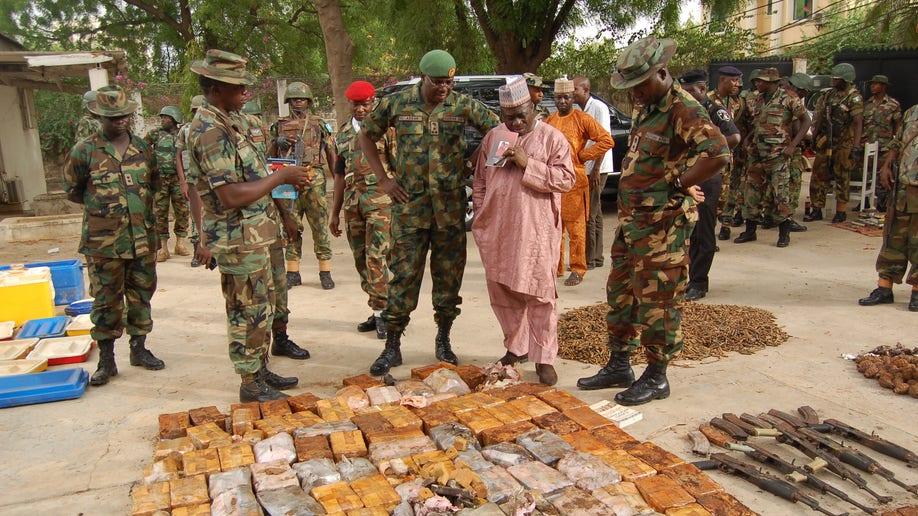 Nigeria Arms Cache