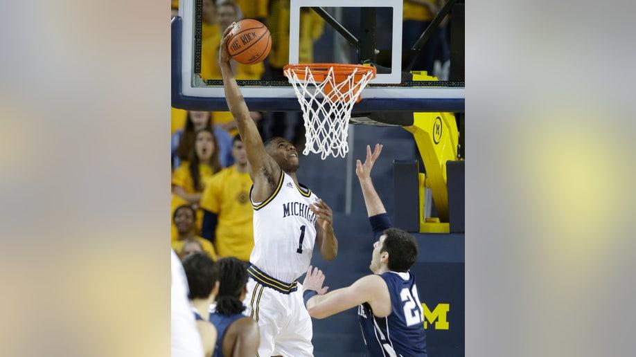Penn St Michigan Basketball