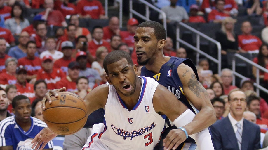 fa78c0fb-Grizzlies Clippers Basketball