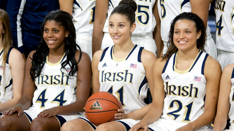 Notre Dame Media Day Basketball