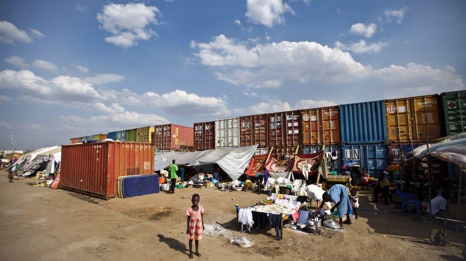 9cf9818c-APTOPIX South Sudan Refugee Camp