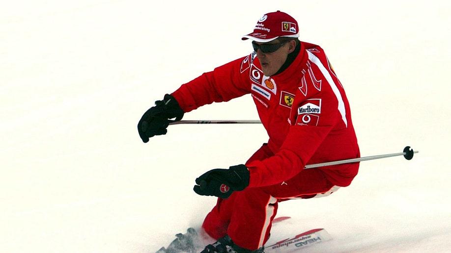 Schumacher Accident