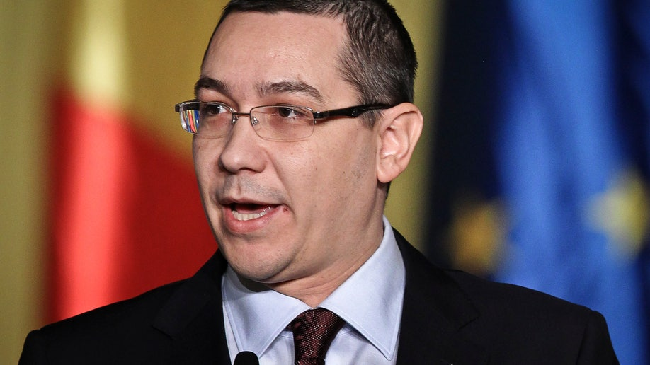 Romania Government Ponta