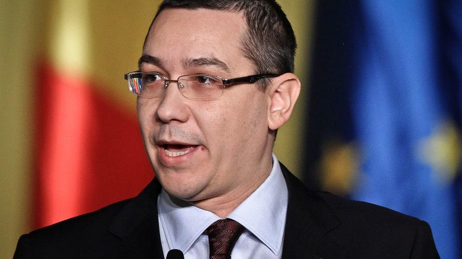 Romania Government Ponta