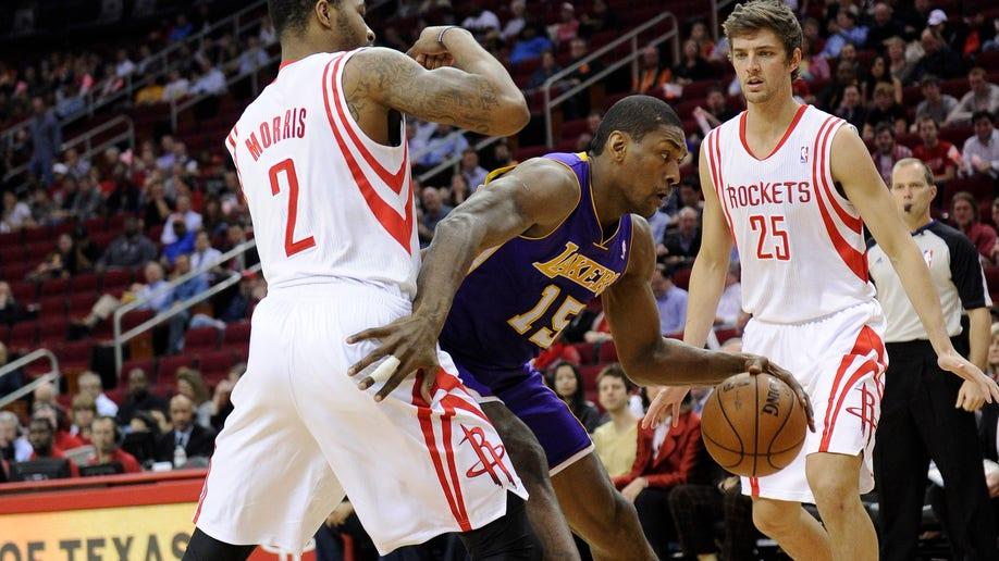 36127412-Lakers Rockets Basketball