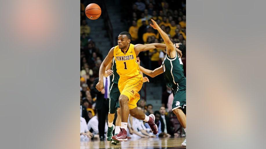 Michigan St Minnesota Basketball