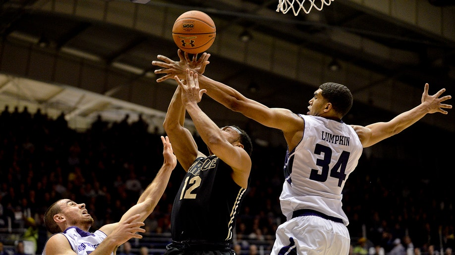 Purdue Northwestern Basketball