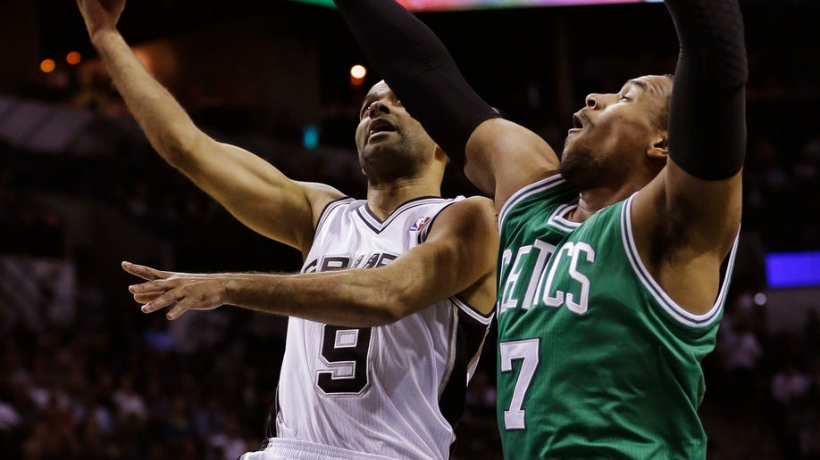 Celtics Spurs Basketball