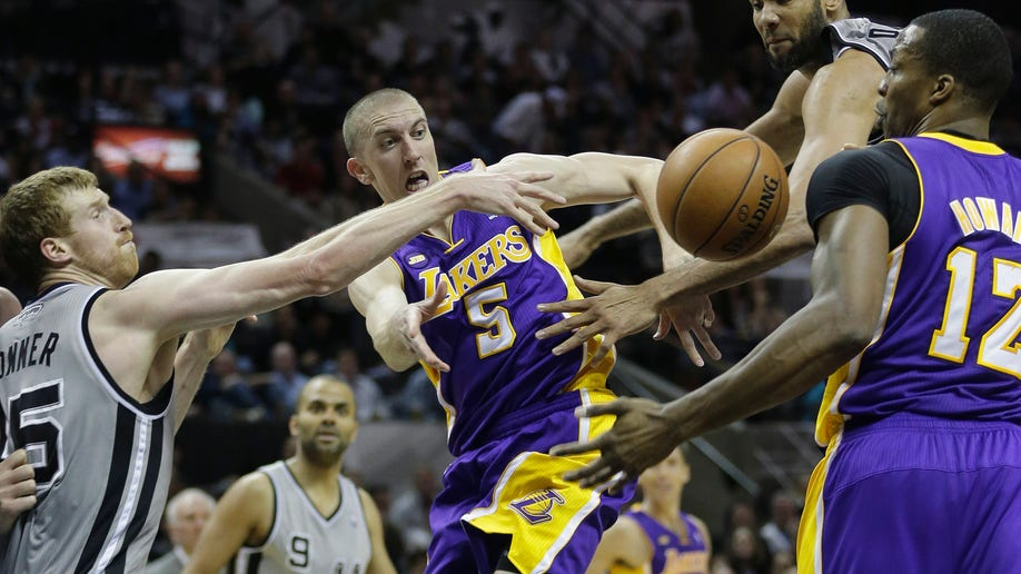 16de3802-Lakers Spurs Basketball