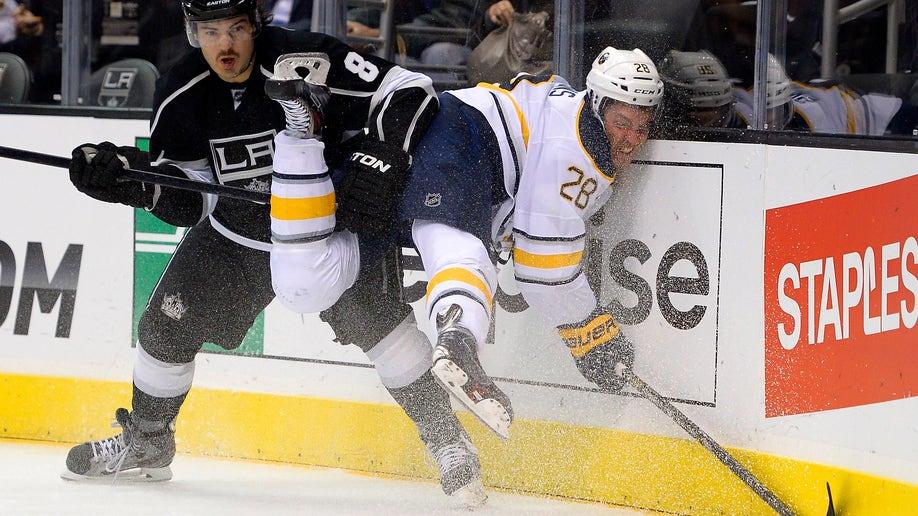 APTOPIX  Sabres Kings Hockey