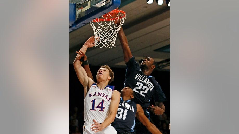 Villanova Kansas Basketball
