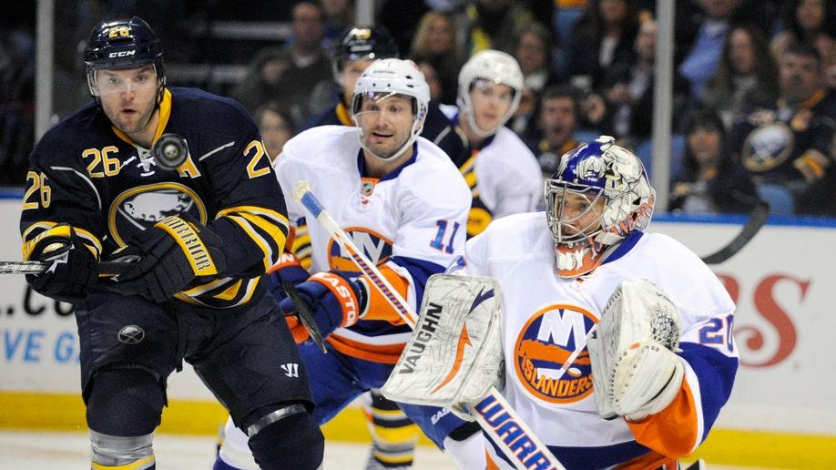 Islanders Sabres Hockey Trade