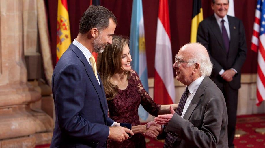 APTOPIX Spain Prince of Asturias Prize