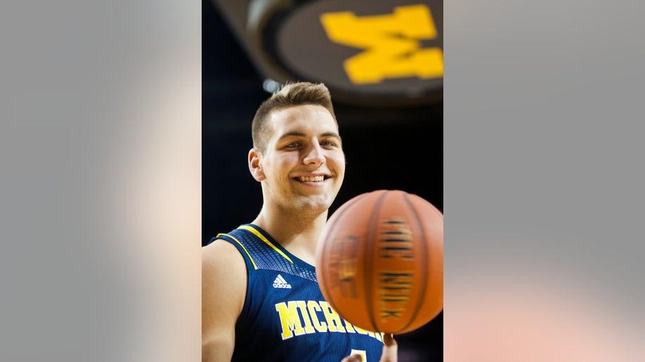 Michigan Media Day Basketball