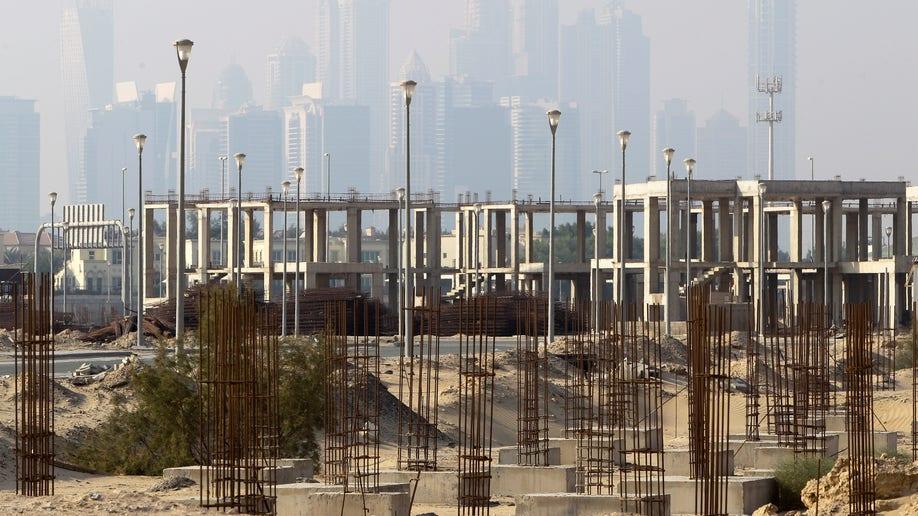 APTOPIX Mideast Emirates Dubai Hunger Strike