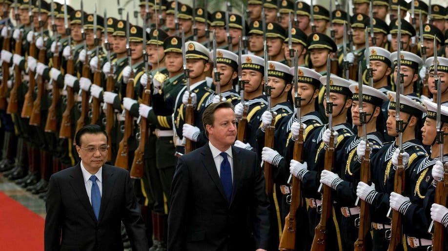 China Britain Prime Minister