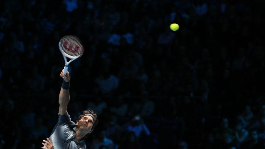 APTOPIX Britain Tennis ATP Finals
