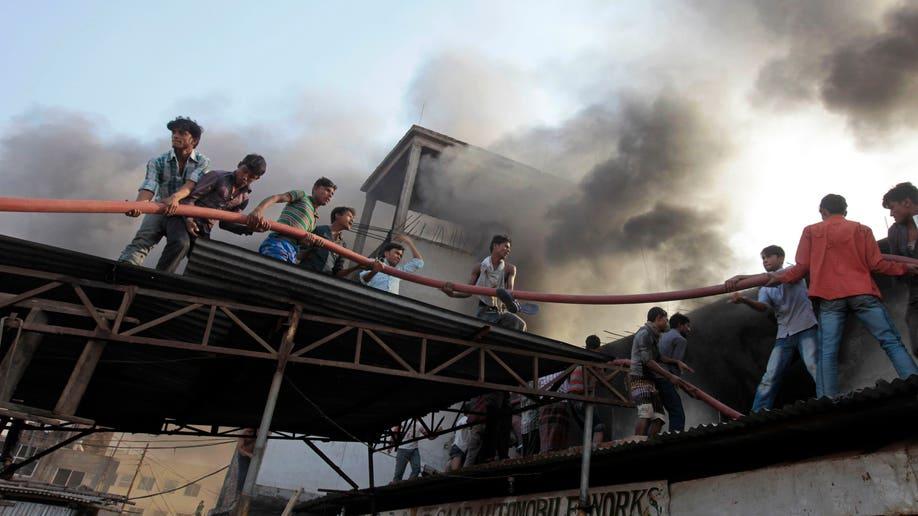APTOPIX Bangladesh Factory Fire