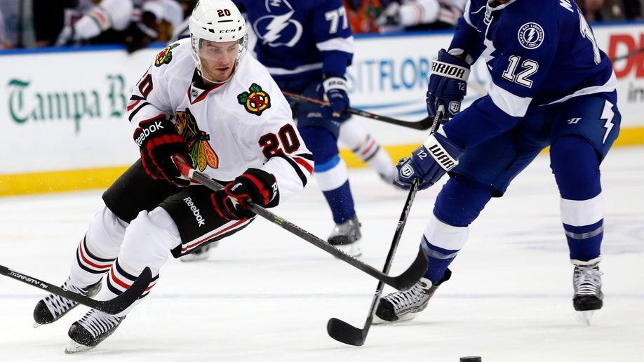Blackhawks Lightning Hockey