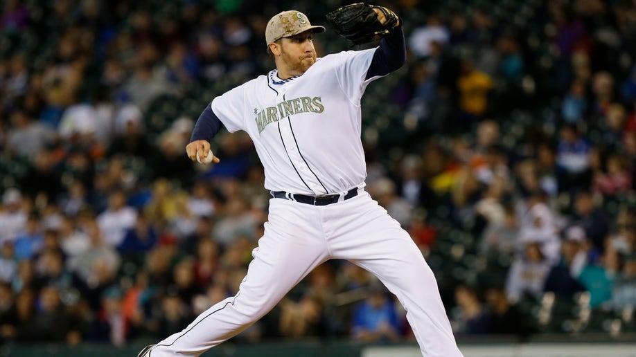 32148471-Padres Mariners Baseball