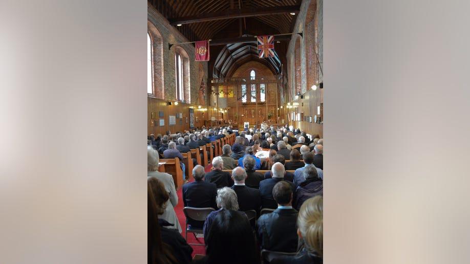 Falklands Thatcher Funeral