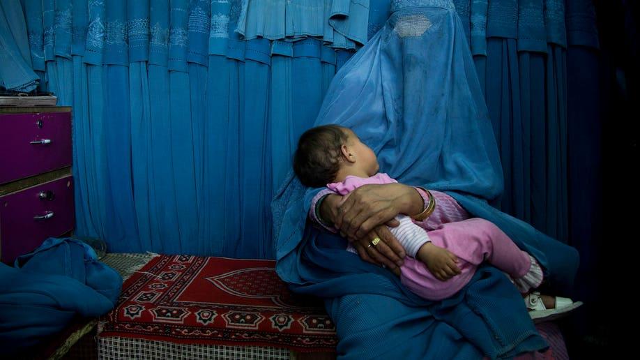 6c16aef0-Afghanistan Burqa Woes