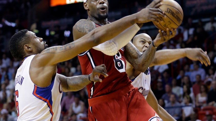 Clippers Heat Basketball