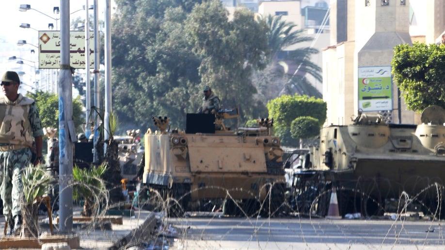 Mideast Egypt Military