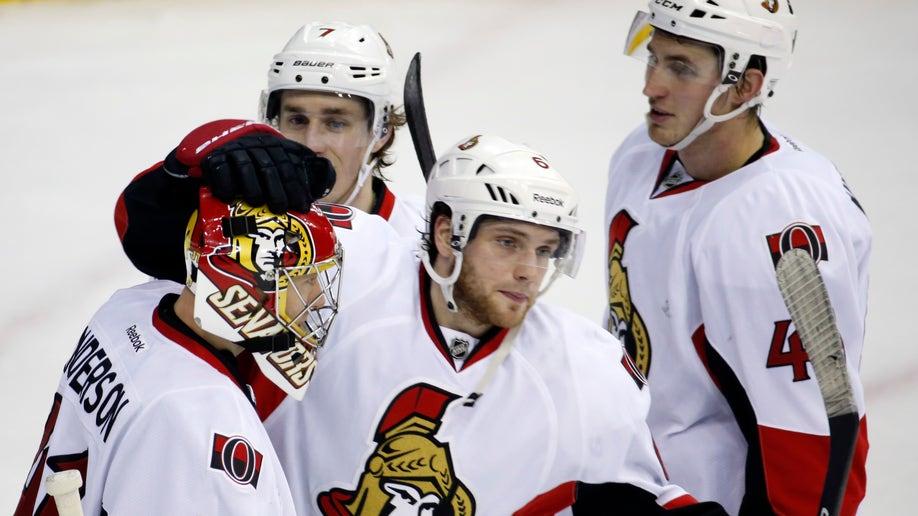 Senators-Capitals Hockey
