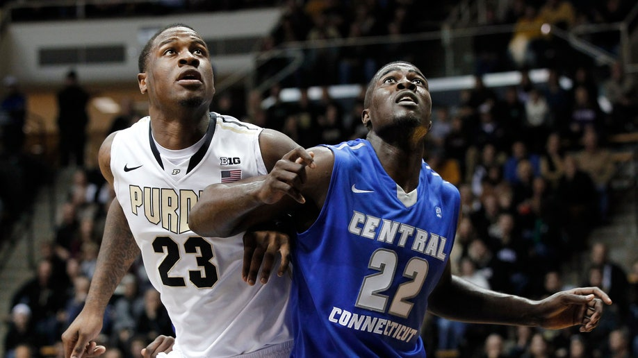 CCSU Purdue Basketball