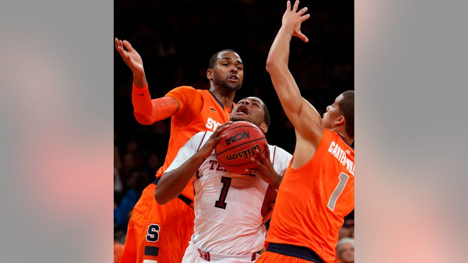 Syracuse Temple Basketball