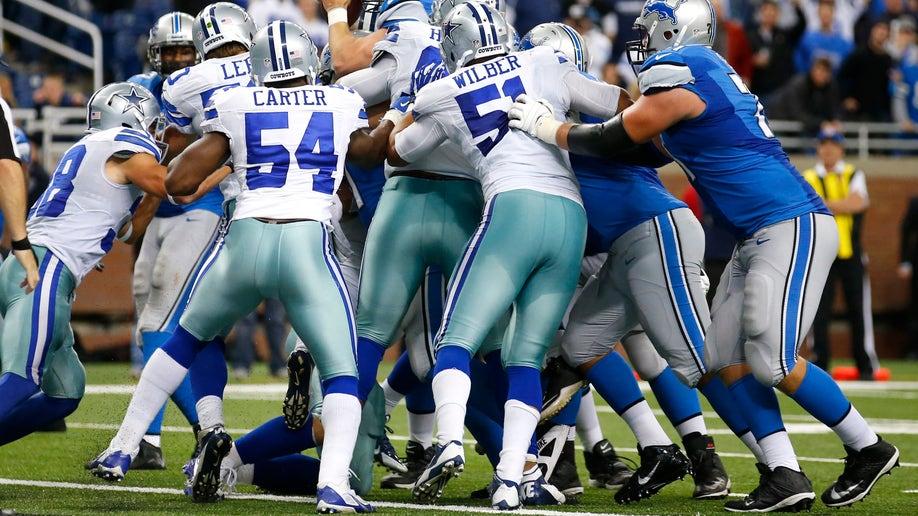 Cowboys Lions Football