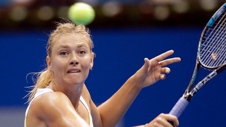 Australia Brisbane International Tennis Sharapova Out