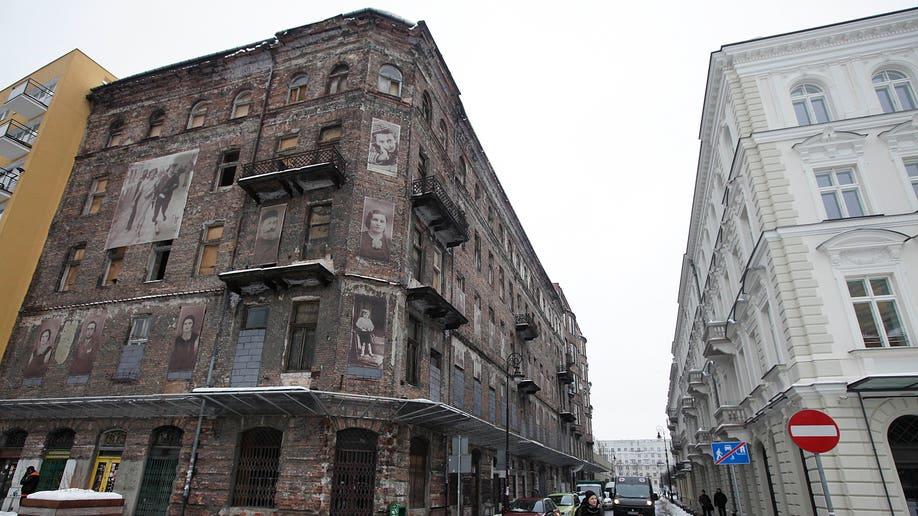 daf22569-Poland Threatened Ghetto Building