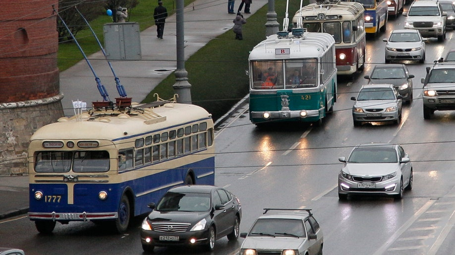 Russia Moscow Trolleybuses