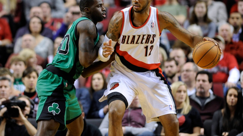 Celtics Trail Blazers Basketball