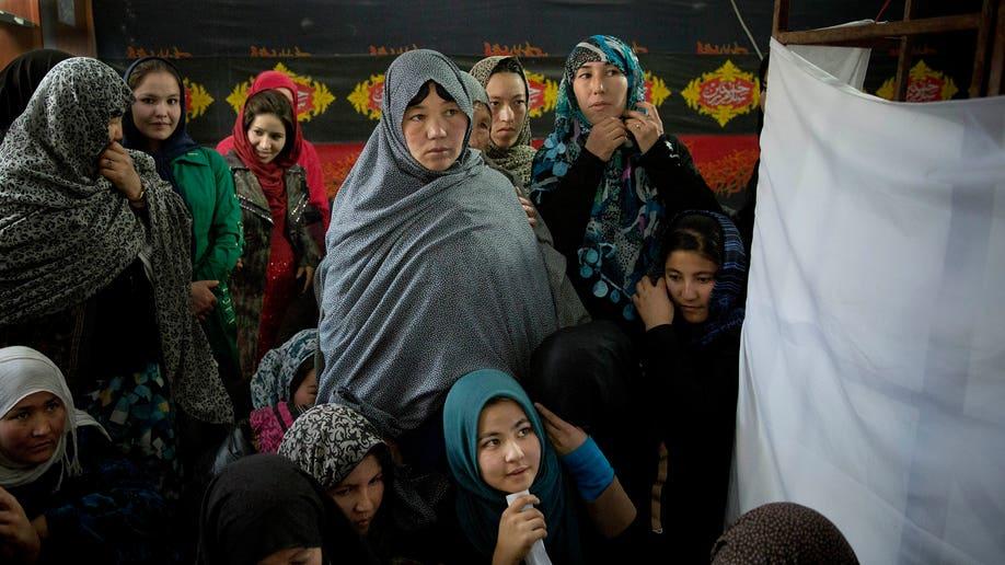 APTOPIX Afghanistan Voting Fears