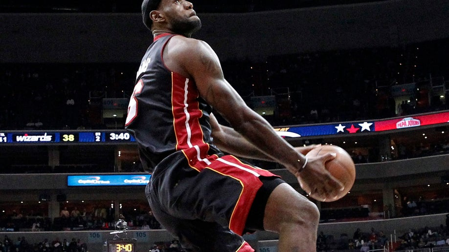 Heat James Season Basketball