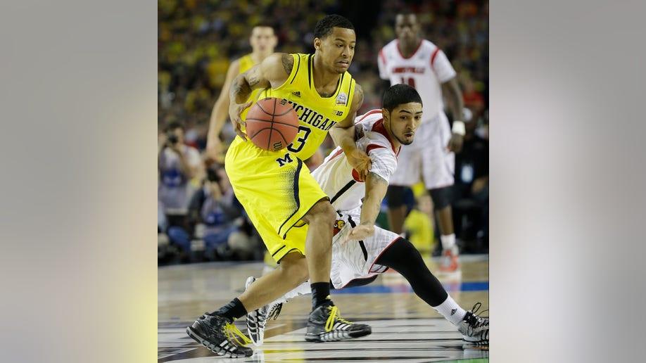 6729cf5e-NCAA Final Four Michigan Louisville Basketball