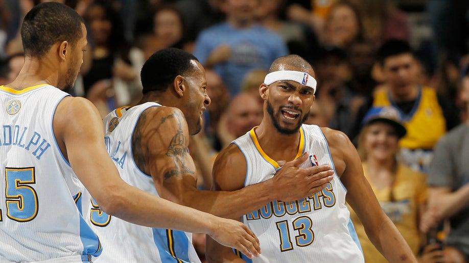 Lakers Nuggets Basketball