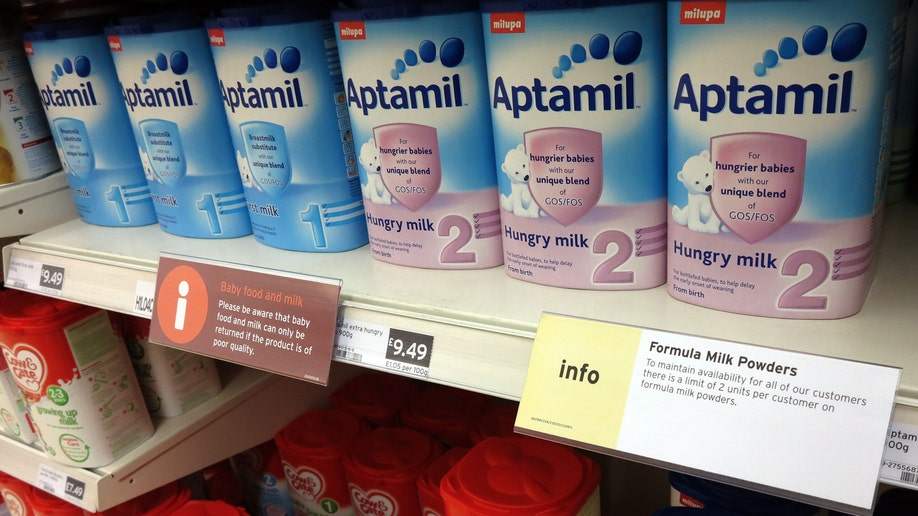 Germany Baby Formula Shortage