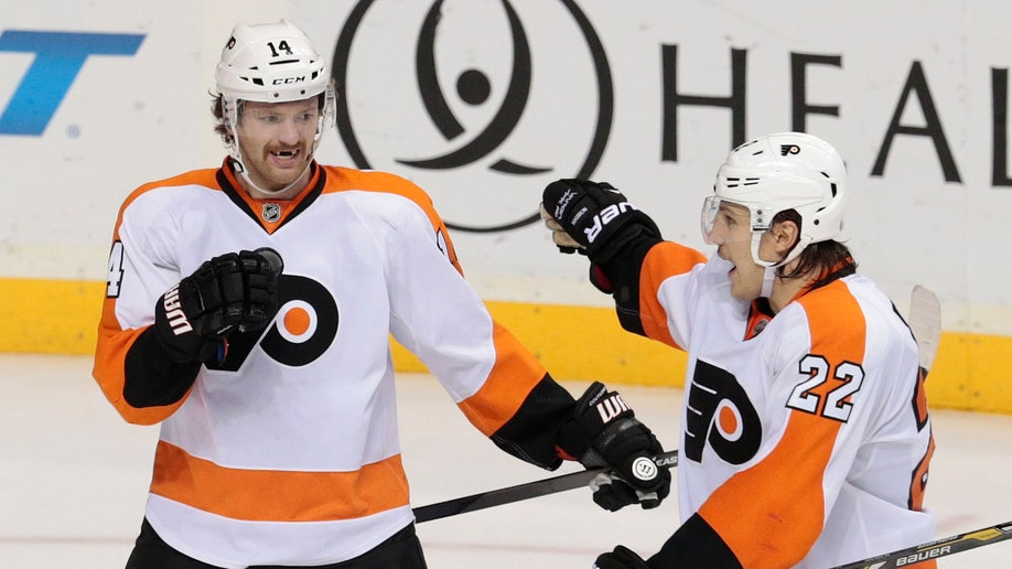 Flyers Predators Hockey