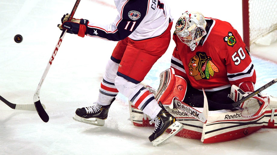 Blue Jackets Blackhawks Hockey
