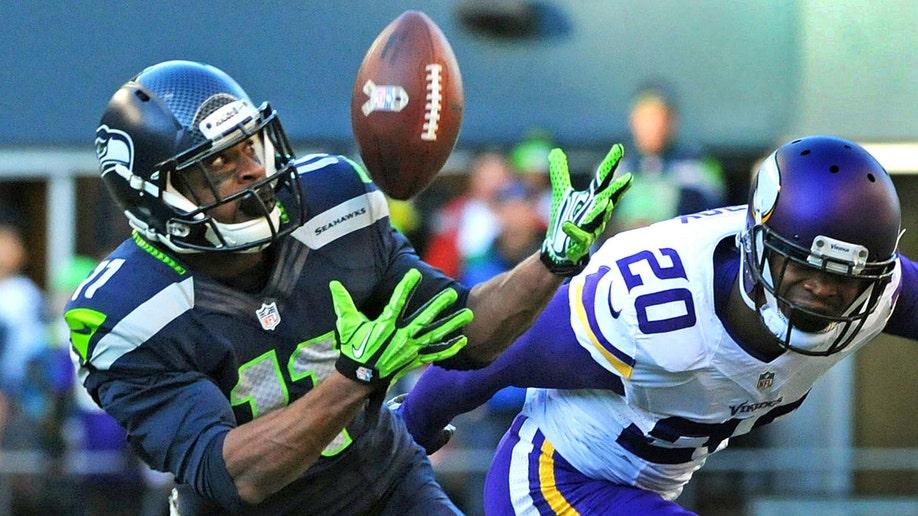 Super Bowl Seahawks Harvin Football