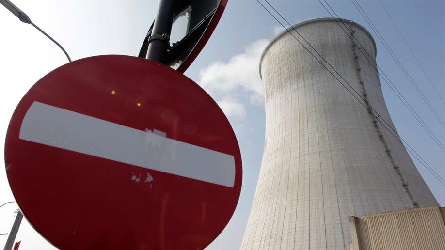 Belgium Nuclear Reactor War Shell