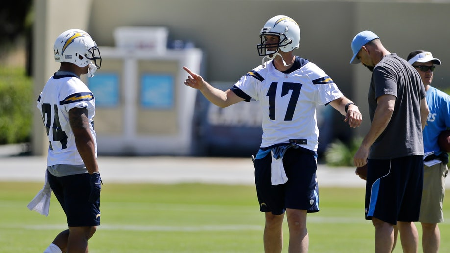 Chargers Camp Football