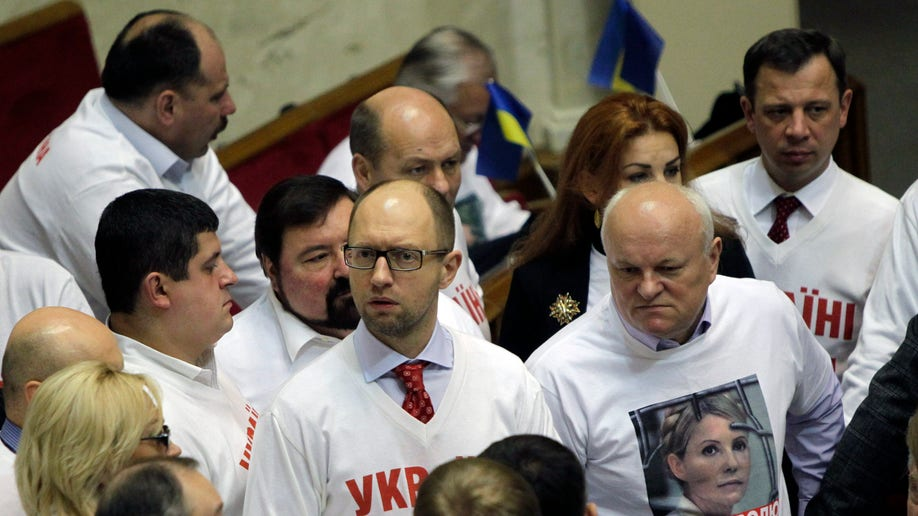 Ukraine Parliament Tymoshenko