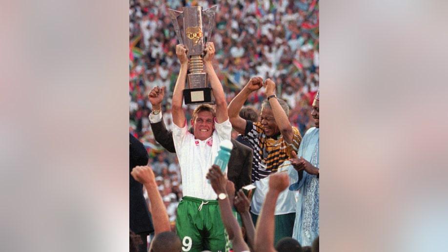 APTOPIX Mandela-Power Of Sports